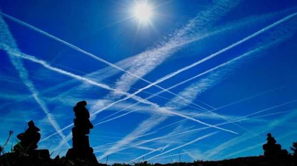 Chemical trails are long lasting and do not dissipate in minutes like conventional condensation trails.