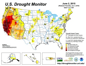 West Coast is in a SERIOUS drought.